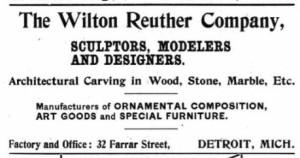 Advertisement, 1899